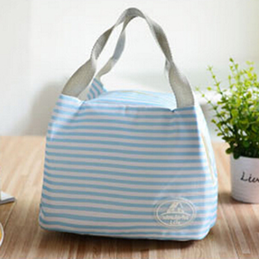 Thermal Food Picnic Lunch Bags Insulated Canvas For Women Kids Fashion Portable Bag Tote Men Lunch Box Lunch Bag