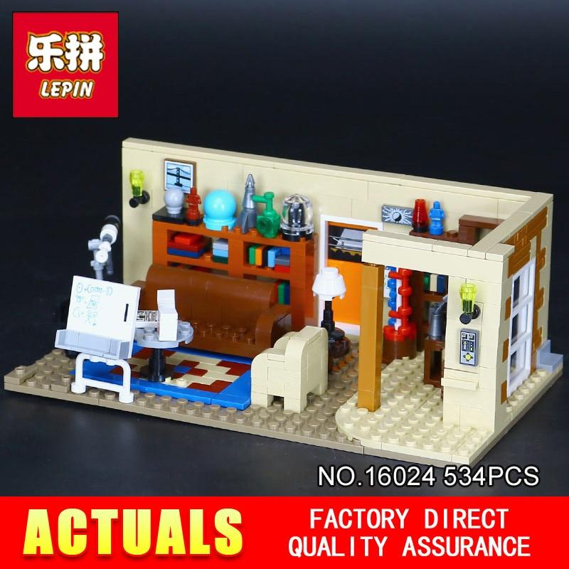 цена NEW Lepin 16024 534Pcs IDEAS Series The Big Bang Set Educational Building Blocks Bricks Compatible Children Toys Gift 21302 онлайн в 2017 году