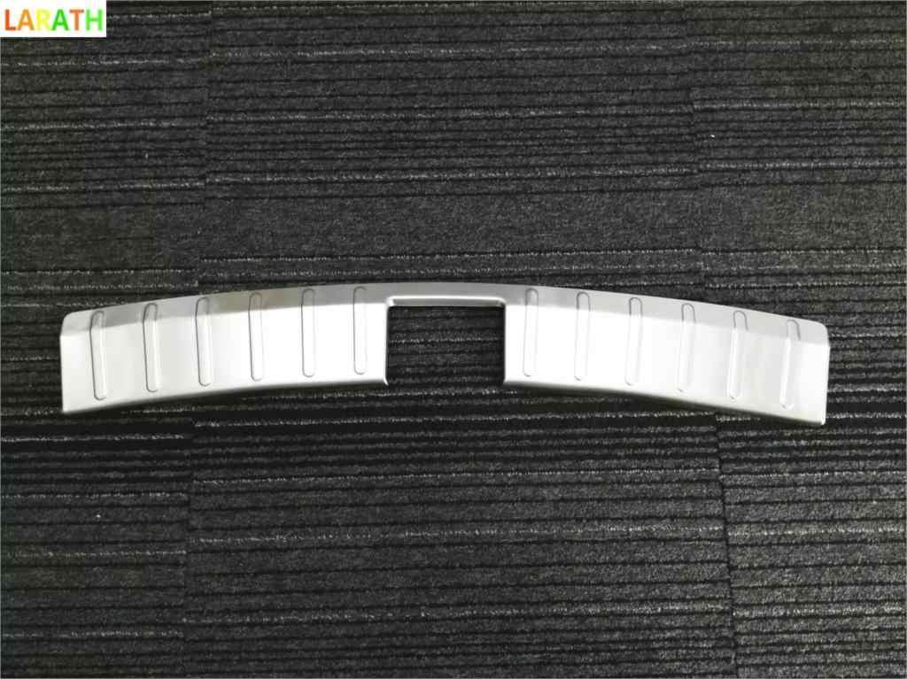 O Novo Aço Inoxidável Choques Traseiro Protetor Tronco Guarnição Tampa Placa Para Lifan Marvell 2016 2017 estilo do carro Acessórios do carro