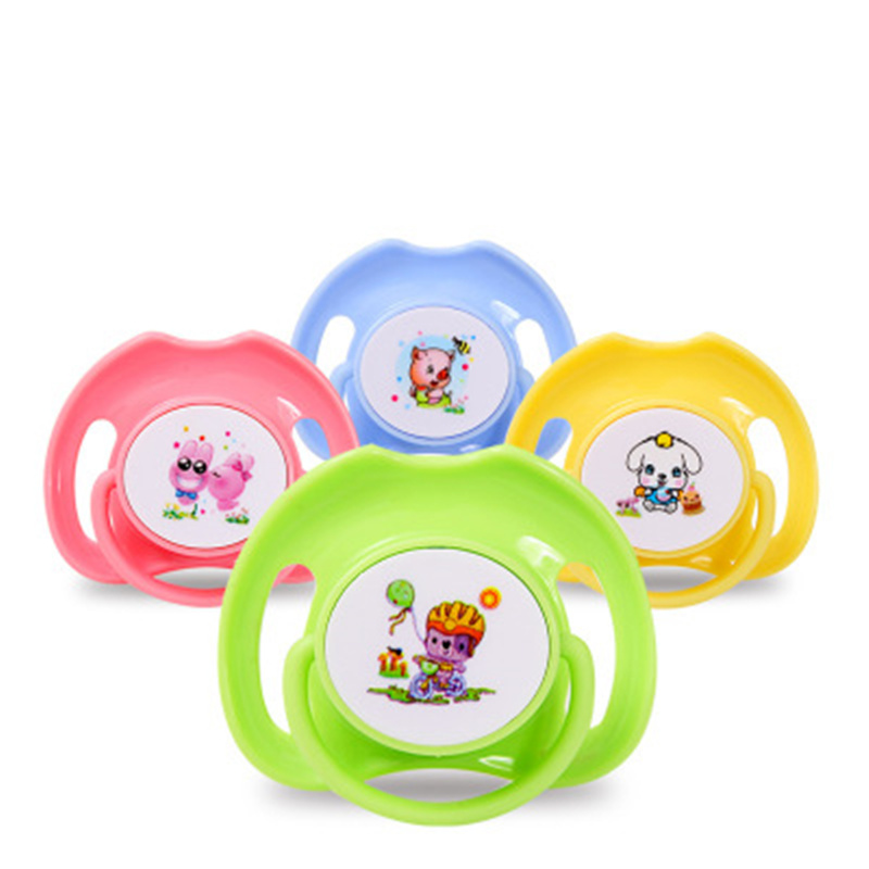 Round  Flat Head 2016 Baby Soother Silicone Nipple Safety -5987