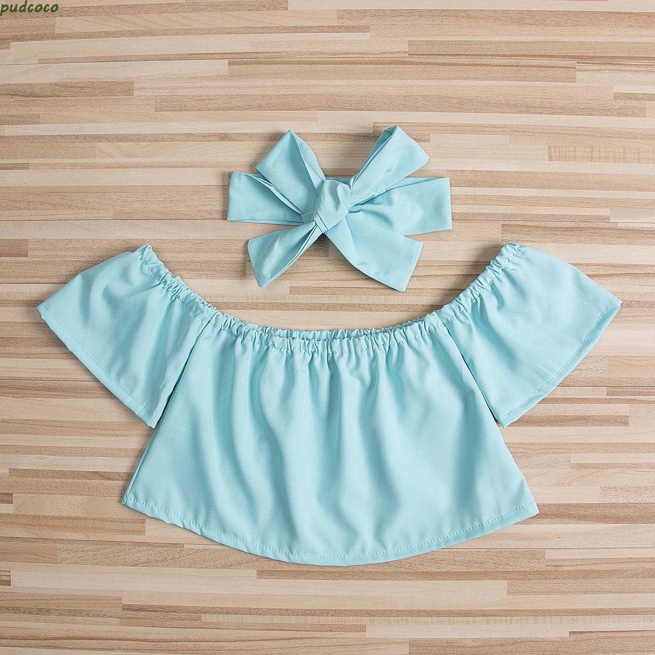 2PCS Floral Toddler Baby Girl Kids Clothes Cute Newborn ...