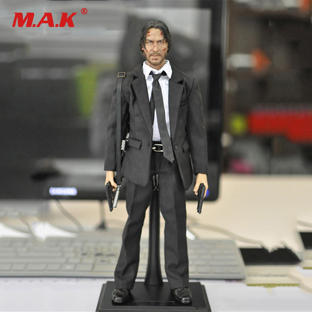 1:6 Scale Full Set Male Action Figure KMF037 John Wick Retired Killer Keanu Reeves Figure Model Toys for Gift Collections стоимость