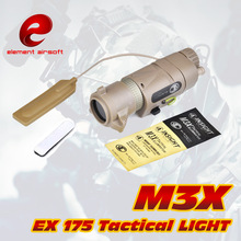 EX 175 Element L-3 Warrior Systems Luz de flash M3X Tactical Illuminator Versión larga nueva Antorcha táctica