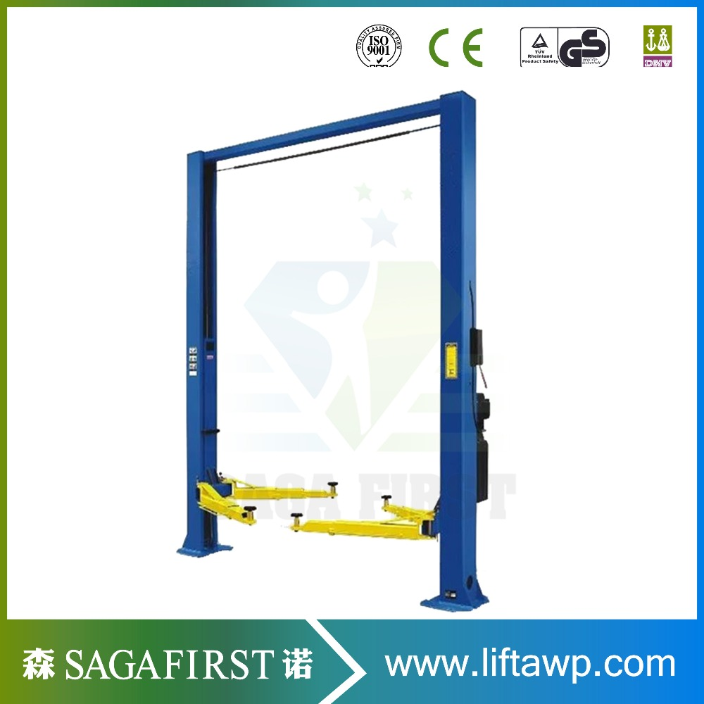 High Standard Stationary Two Post Lift For Vehicle Maintance