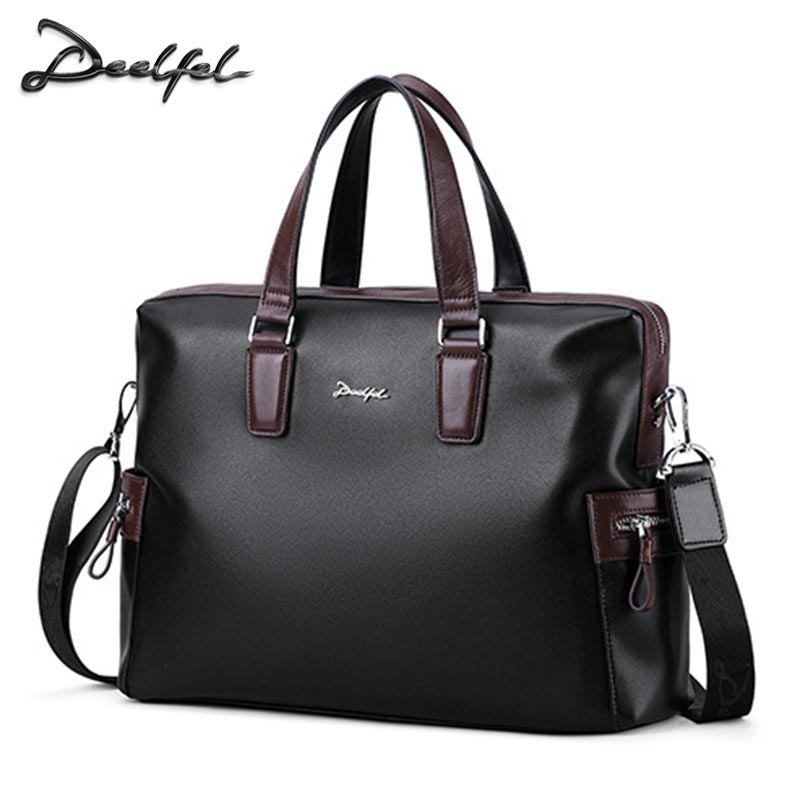2018 Fashion Man Briefcase Messenger Shoulder Bags Tote Male PU Leather Laptop Briefcase Bag For Teenager Boys Travel Bag2018 Fashion Man Briefcase Messenger Shoulder Bags Tote Male PU Leather Laptop Briefcase Bag For Teenager Boys Travel Bag