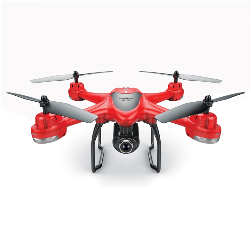 S30W Dual GPS RC Drone with 720P/1080P HD Camera WiFi FPV RC Quadcopter Follow Me One-Key Return RC Helicopter VS S70W X8PRO Lahore