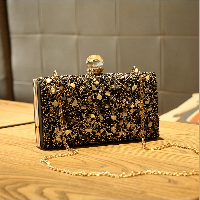 Women Evening Bag Day Clutches Crystal Banquet Wedding Party Bag Beaded Evening Clutch Bag top design red crystal evening bag roundness luxury clutch bags wedding party purse prom handbag silver banquet bag day clutches