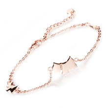 Cute Dog Design Woman Anklets Fashion Stainless Steel Delicate Women Ankle Bracelet Jewelry GZ011