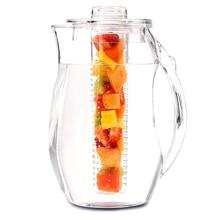 2.5L кувшин для воды заварочный чай Фруктовый инфузионный кувшин со льдом стержень прочный Небьющийся дизайн ледяной чай пробойник нужен FPing