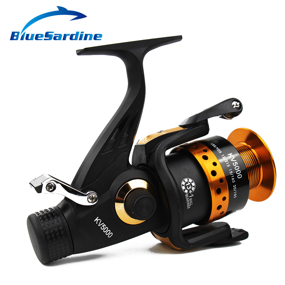 BlueSardine 13 + 1 BB 5.2: 1 Metal Spinning Fishing Reel Pesca - თევზაობა - ფოტო 3