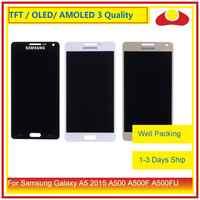 ORIGINAL para Samsung Galaxy A5 2015 A500 A500F A500FU A500H A500 Pantalla LCD con Pantalla táctil digitalizador Panel Pantalla Completa