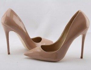 Image 3 - So Kate zapatos de tacón alto para mujer, calzado de punta puntiaguda, color negro, charol, Stiletto Pigalle, para novia