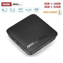 Mecool M8S PRO L Smart TV Box Android 7.1 Amlogic S912 3GB RAM 32GB ROM 5G Wifi BT4.1 TV Box Voice Remote Control Set-top Box