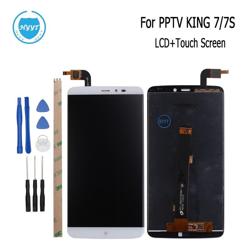 imágenes para Para PPTV REY 7 7 S LCD Pantalla y Pantalla Táctil de Garantía 2560x1440 Original de piezas de Repuesto de Montaje 6.0 pulgadas + Herramientas + Adhesivo