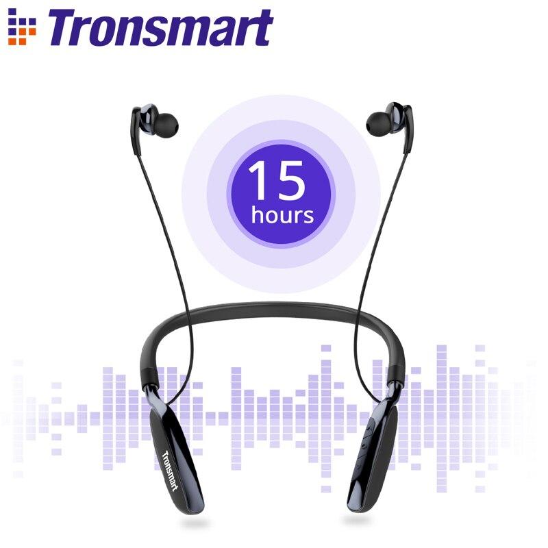Tronsmart Encore S4 Active Noise-Cancelling Bluetooth Headphones with Neckband барбра стрейзанд barbra streisand encore movie partners sing broadway lp