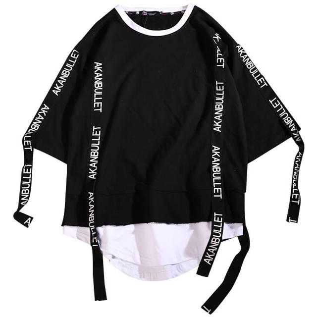 Harajuku Hip Hop T Shirt...