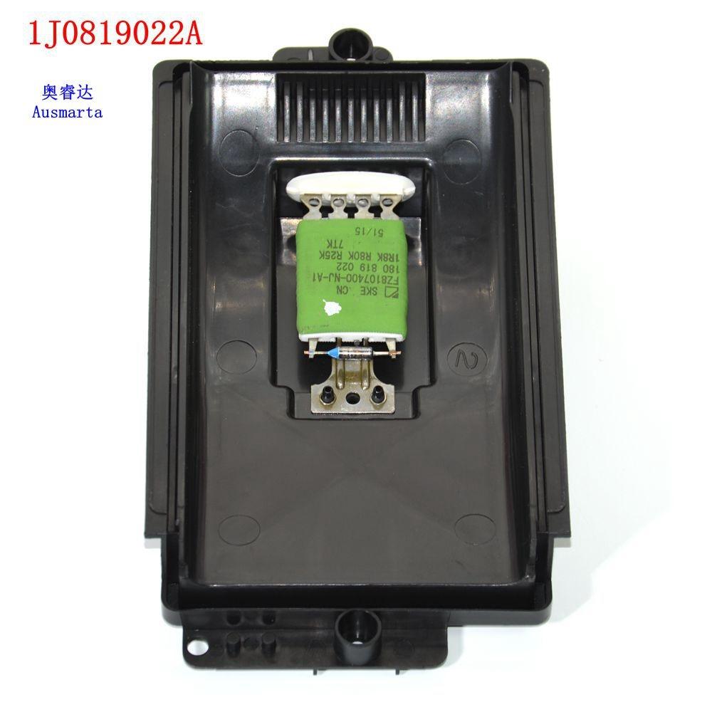 OEM VW Bora/Golf/Lupo/New Beetle & Polo Heater Motor Resistor 1J0 819 022A 1J0819022A RU-429 New