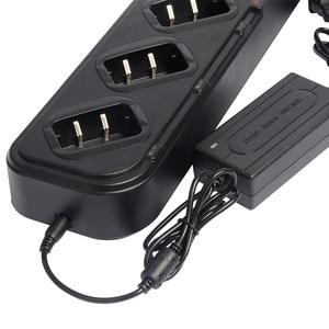 Image 5 - Carregador múltiplo para Baofeng Carregador para UV 5R UV5R 6 em 1