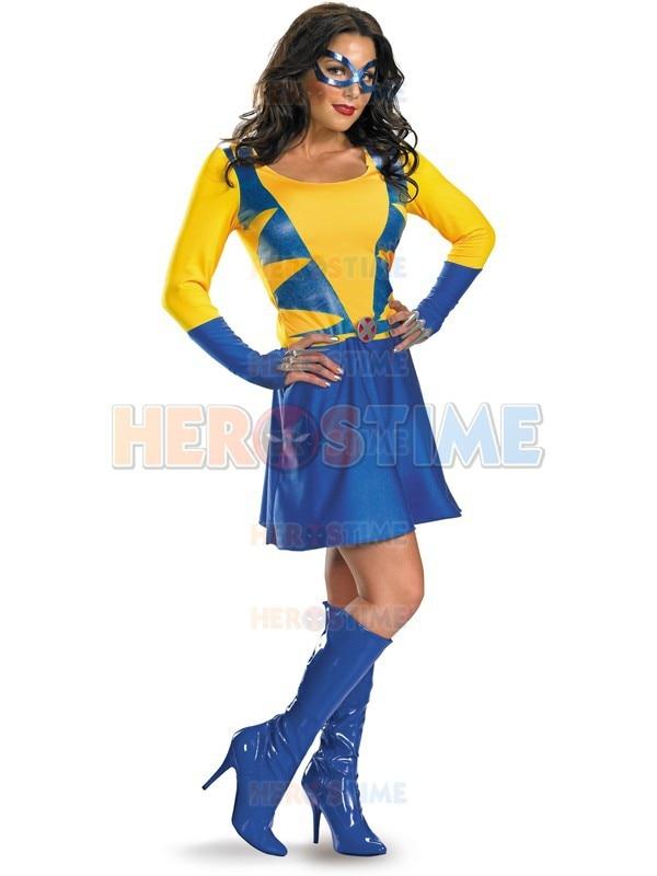 Classic Spandex Wild Thing Superhero Costume hot s.