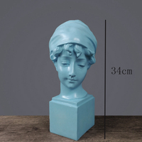 Nordic modern Venus statue art girl sculpture abstract figure figurine creative angel crafts home decoration accessories gift