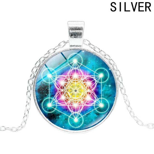 Metatron cube pendant necklace sacred geometry flower of life metatron cube pendant necklace sacred geometry flower of life jewelry chakra spiritual necklace women magic hexagram aloadofball Gallery