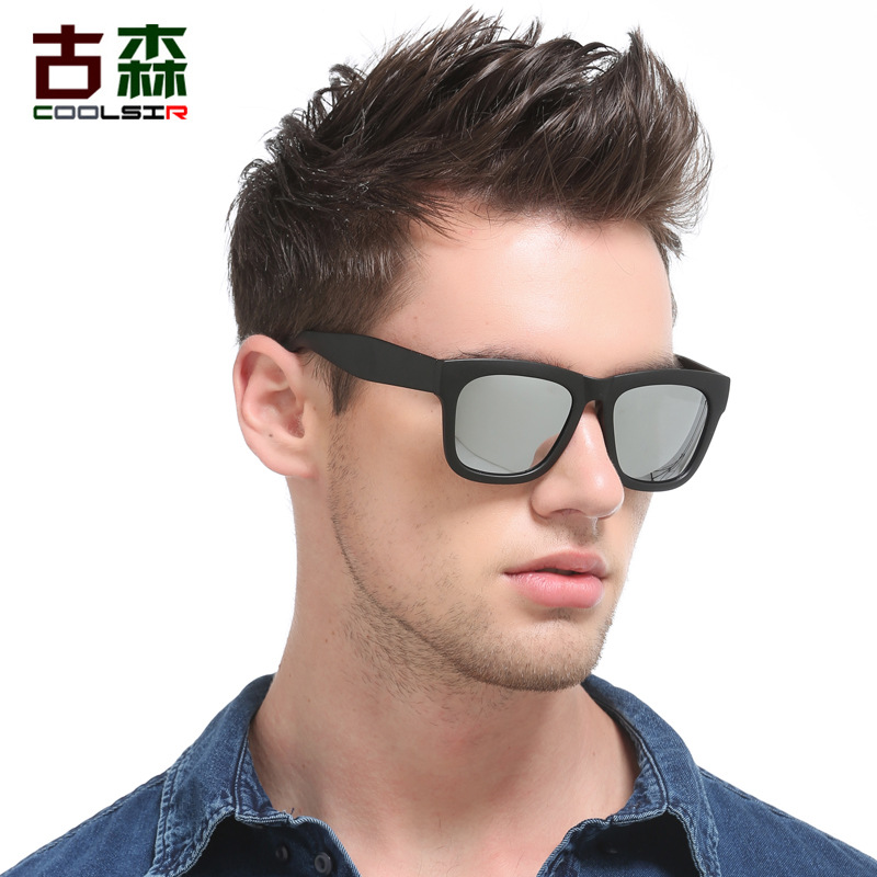 100pcs/lot Highly Recommended Reflective Mirror Polarized Sunglasses Men Square Sport Sun Glasses Women UV gafas de sol