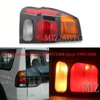 MIZIAUTO Tail Brake Lights For Mitsubishi Pajero MONTERO Sport 1999 2008 Rear Lamp Tail Light Bumper Light Tail Stop Lamp