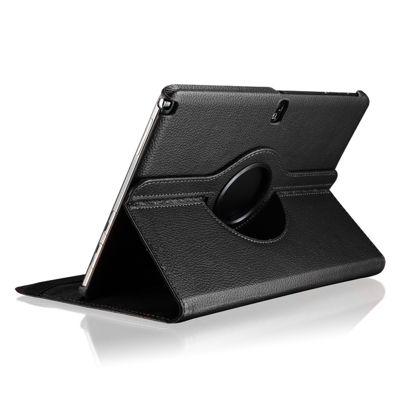For Samsung Galaxy Tab Pro <font><b>10.1</b></font> inch T520 T525 T521 Note 2014 P600 P601 P605 Tablet Case <font><b>360</b></font> Rotating Bracket Leather Cover image