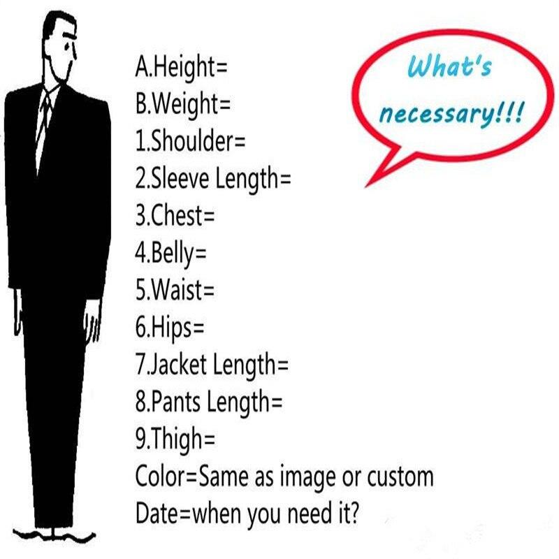 Image 4 - Custom Made Burgundy Costume Homme Terno Groom Tuxedos Groomsmen  Mens Wedding Suits Slim Fit Men Suit ( Jacket Pants Vest)Suits   -