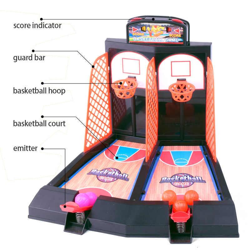 Малыш веселый подарок настольный баскетбол мини пальчиковая корзина игрушка спортивные детские настольные игры двойная игра интерактивная игрушка