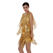 European Brand luxury dresses fashion bling-bling sequined dancing women bandage-dress-wholesale gold glitter dress KR4007