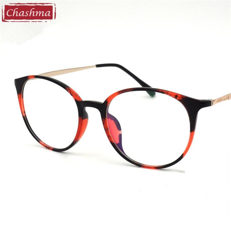 Chashma marca anteojos TR 90 gafas Vintage gafas redondas para las ...