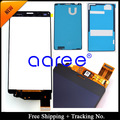 adhesive Sticker +100% Tested original For Sony  Xperia  Z3 mini LCD Z3 compact  LCD Display Touch Screen Digitizer Assembly