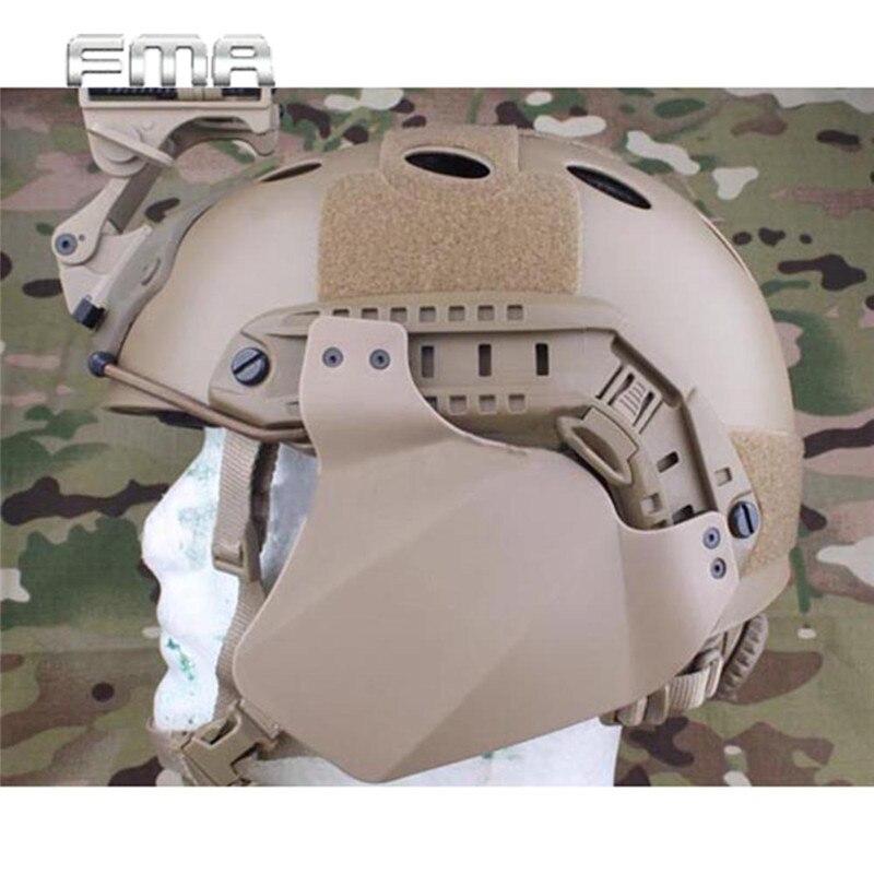 Prix pour FMA Airsoft Tactique Militaire Combat RAPIDE Capot Latéral pour Casque Ferroviaire Compatibilité Avec Rapide IBH/Mich 2000/ACH