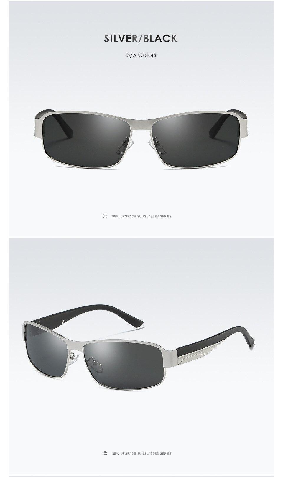 ⑦AORON Men Polarized Sunglasses Drive Sun Glasses