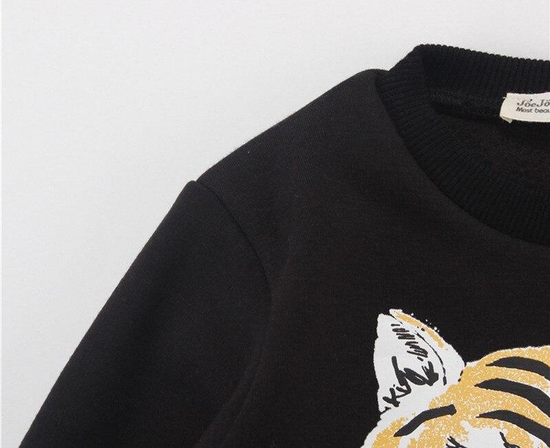 2016 autumn winter kids 3d tiger hoodies sweatshirts pants clothing sets baby boy clothes kids clothes kikikids vetement enfant