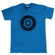 Cogs Mens Cycl T Shirt, Mountain Downhill Singletrack Road  Courier New Shirts Funny Tops Tee free shipping
