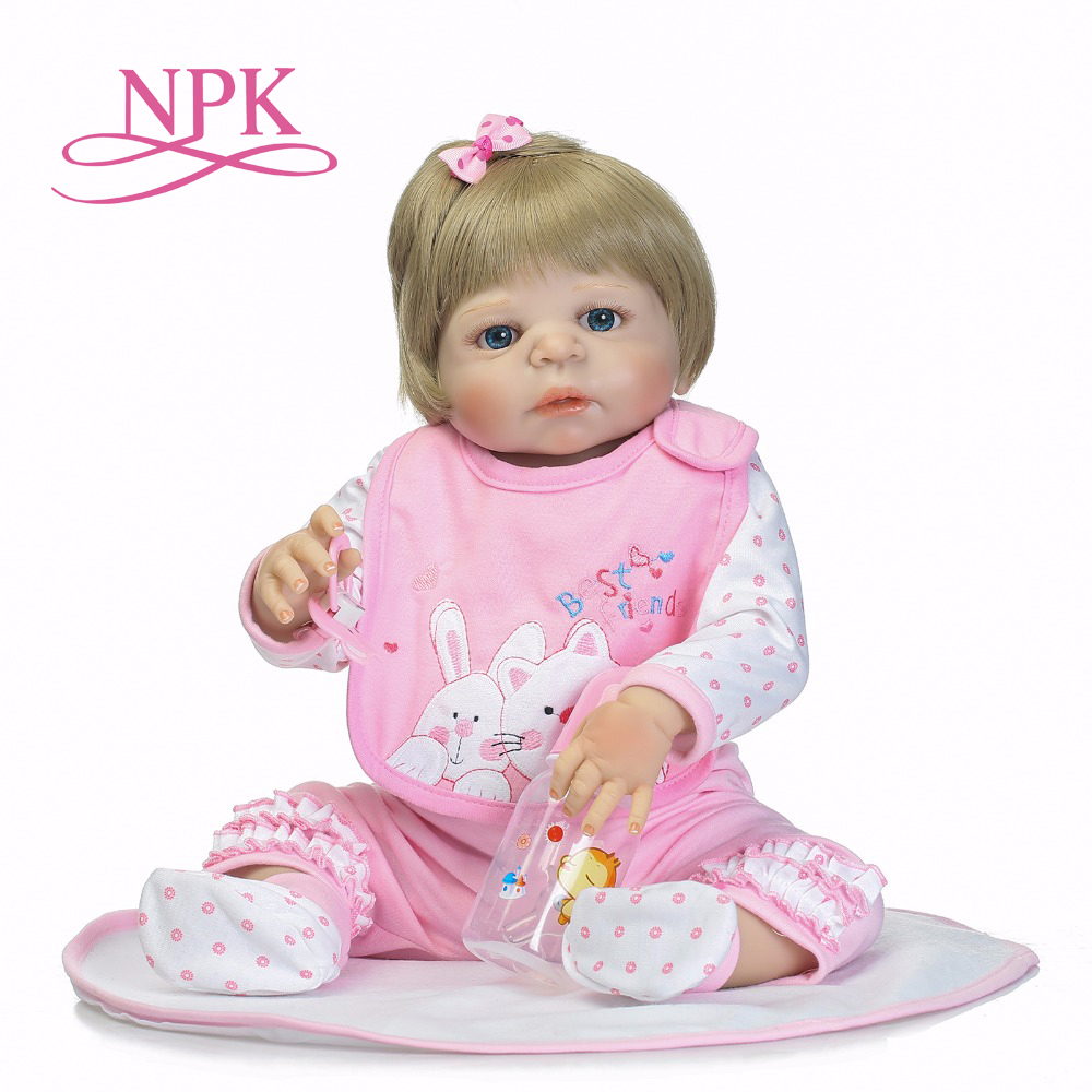 NPK full silicone reborn baby girl dolls soft silicone vinyl real gentle touch bebe new born real baby Christmas Gift npk new arrival full body silicoen bebe reborn girl dolls soft silicone vinyl real gentle touch bebe new born real reborn baby