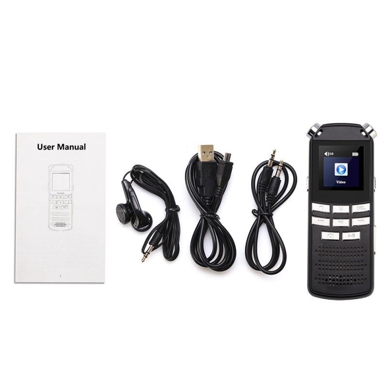 HD DVR Digital Camera Voice Recorder USB MP3 Dictaphone Digital Audio Voice Recorder DVR 720P Microphone-in Digital Voice Recorder from Consumer Electronics