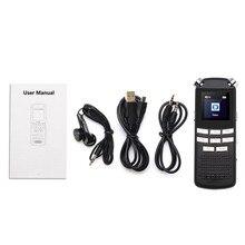 HD DVR cámara Digital grabadora de voz USB MP3 dictáfono Digital Grabadora de Voz de Audio DVR 720P micrófono