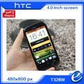 """Оригинальный HTC T328w желание V T328w сотовый телефон две сим-карты 4.0 """" сенсорный экран GPS Wi-Fi 5.0MP бесплатная доставка поддержка русского языка"""