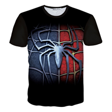 New Fashion males/girls 3d humorous T shirt print Spider sample T-shirt Casual mens harajuku t shirt flag tee shirt Plus S-5XL R2359