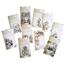 20Pcs/set NEW Vintage style Alice's Adventure in Wonderland post card set//Greeting Card 20pcs set составление инструменты