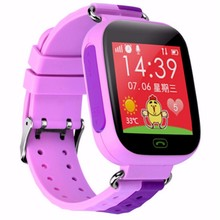 Smart watchเด็กปลอดภัยนาฬิกาข้อมือsosสถานที่ตั้งfinder l ocatorติดตามต่อต้านหายไปตรวจสอบเด็กของขวัญ