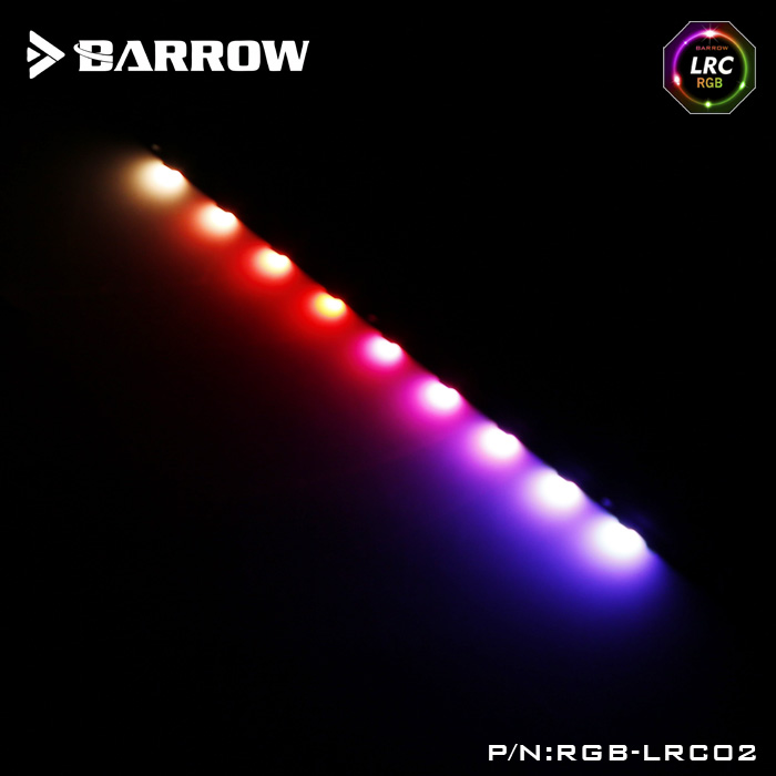Barrow LRC RGB v2 9lighting beads special light bar for Graphics Water Cooling Block to replacing LRC RGB v1 light bar RGB-LRC02