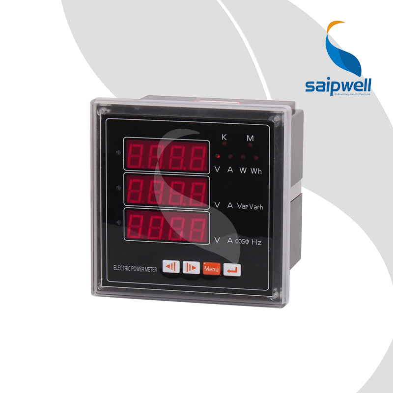 FREE SHIPPING 42 Type Three Phase Electric Multi-function Meter,3 Rows LED Digital Power Meter (SP-24E)FREE SHIPPING 42 Type Three Phase Electric Multi-function Meter,3 Rows LED Digital Power Meter (SP-24E)