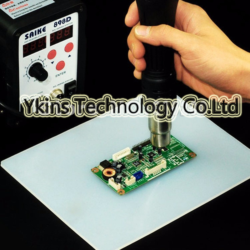 New BGA soldering station hot air gun electric iron heat-resistant repair insulation pad insulation mat table mat 500mm * 400mm