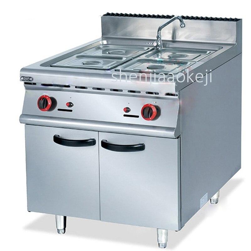 Ev Aletleri'ten Mutfak Robotları'de Dikey tipi sıvılaştırılmış gaz dört tencere çorba dolapları Ticari Gıda Pişirme ısı koruma makinesi yalıtım çorba havuzu