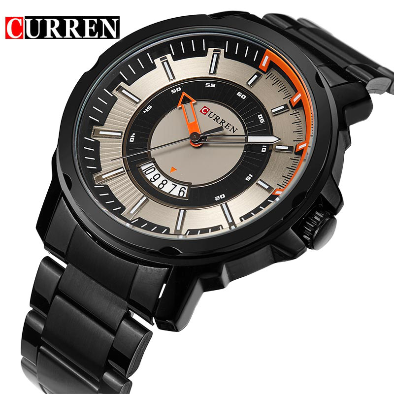NEW CURREN Watches Men Top Brand Fashion Watch Quartz Business Watch Male relogio masculino Men Army Sports Analog Casual Date new 2016 nary watches men top brand fashion watch quartz watch male relogio masculino calendar watches men s casual wrist watch