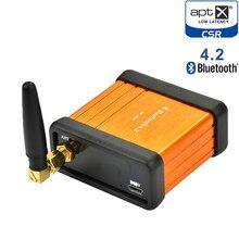 HIFI Bluetooth 4,2 CSRA64215 Aptx низкой задержкой музыкальный приемник плата стереоусилителя аудио коробка автомобиля изменение DIY адаптер беспроводной